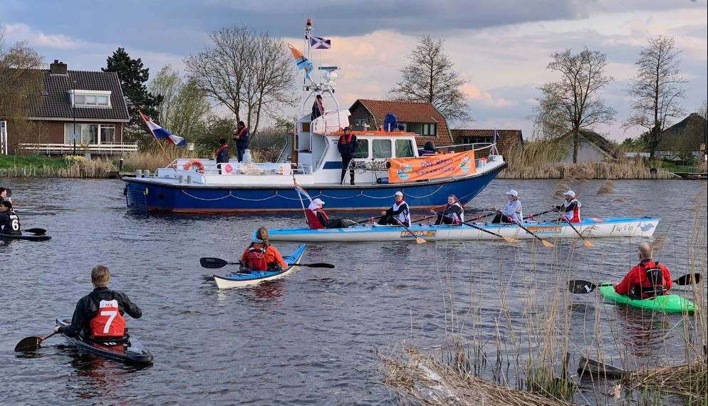 KiKaRow arriveert op zondag 5 mei via Heusden in Den Bosch. Op 11 mei gaat de boot The Vin via Schijndel verder naar Eindhoven.