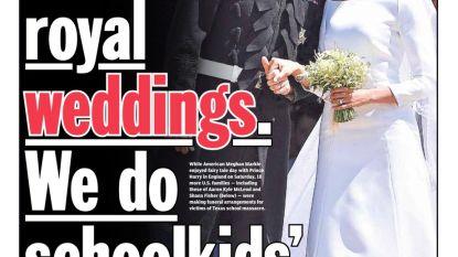 Cover New York Daily News maakt contrast van dit weekend pijnlijk duidelijk