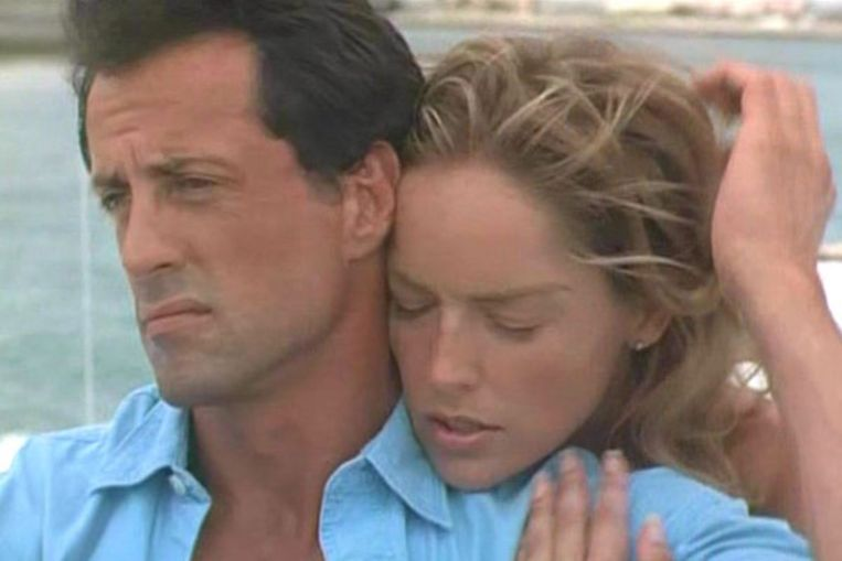 Sylvester Stallone en Sharon Stone in The Specialist (Luis Llosa, 1994). Beeld