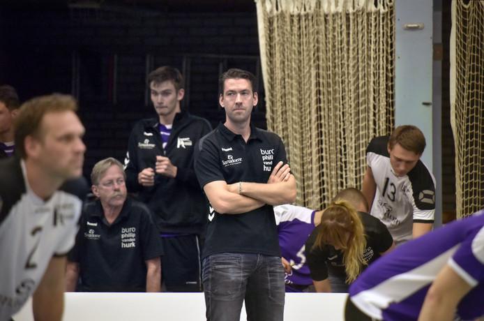 Vocasa-trainer Joost Joosten op archiefbeeld.