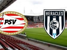 LIVE: PSV met Lozano tegen Heracles, Bergwijn ontbreekt