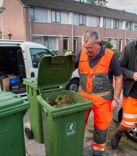Plastic bij het gft-afval? De controleur in Waalwijk is onverbiddelijk: rode kaart