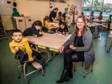 Op deze jarige Hengelose basisschool zitten 76 leerlingen van wel 22 nationaliteiten