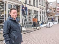 Verwarmd overdekt terras voor Het Wijnhuis Zwolle