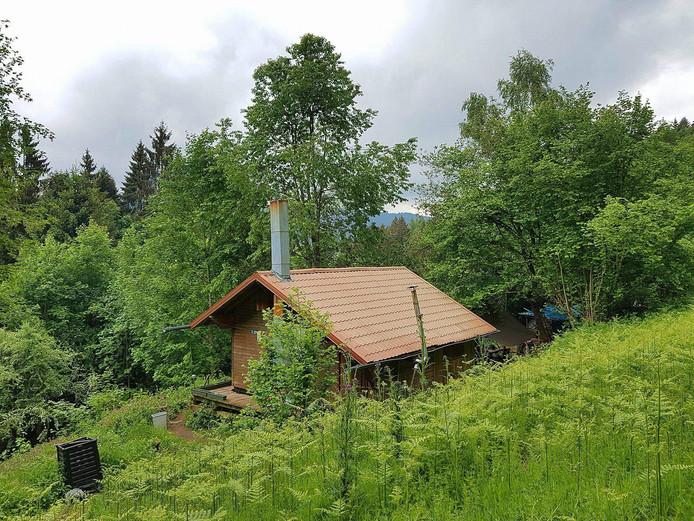 De berghut in de Vogezen.