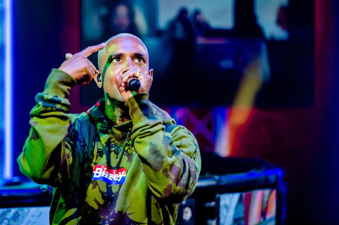 Rapper Bizzey.