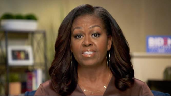 """Michelle Obama haalt uit naar Trump op Democratische Conventie: """"Hij is de verkeerde president"""""""