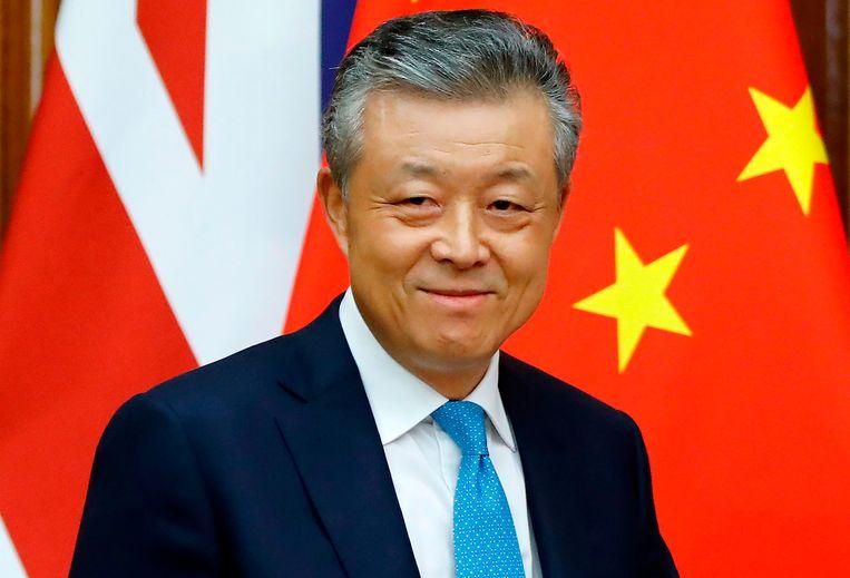 Liu Xiaoming , Chinees ambassadeur in het Verenigd Koninkrijk.