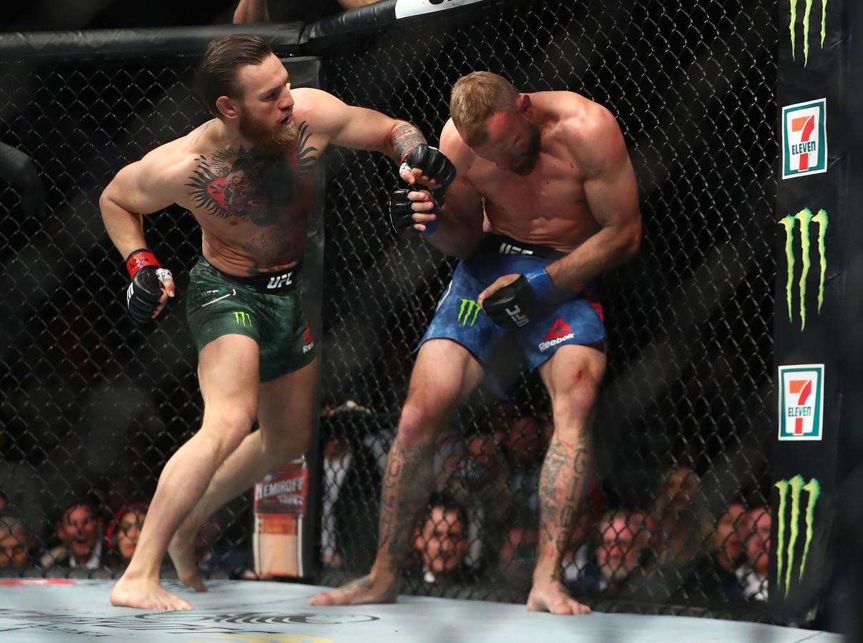 Conor McGregor in gevecht met Donald Cerrone