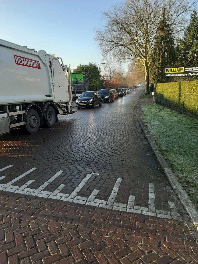 Er is sluipverkeer op de Johannes Bosboomstraat.