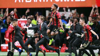 VIDEO. Dolle taferelen in MLS, waar Atlanta voor meer dan 70.000 fans allereerste titel uit clubgeschiedenis verovert