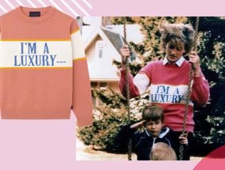 Een portie prinses Diana in je kleerkast: enkele van haar iconische sweaters zijn opnieuw te koop