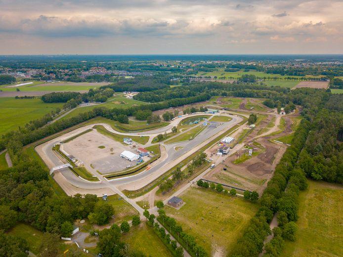 De ontsluiting van het Eurocircuit zorgt voor onenigheid tussen de gemeenten Bergeijk en Valkenswaard (archieffoto).