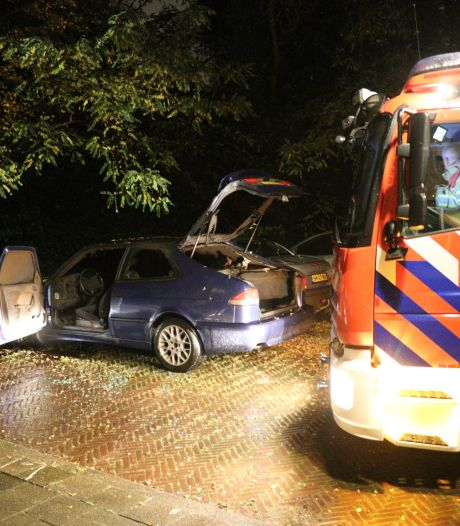 Autobrand in Utrechtse Rivierenwijk, politie gaat uit van opzet
