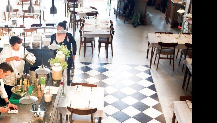 Restaurant de Jong, Rotterdam. Beeld Els Zweerink