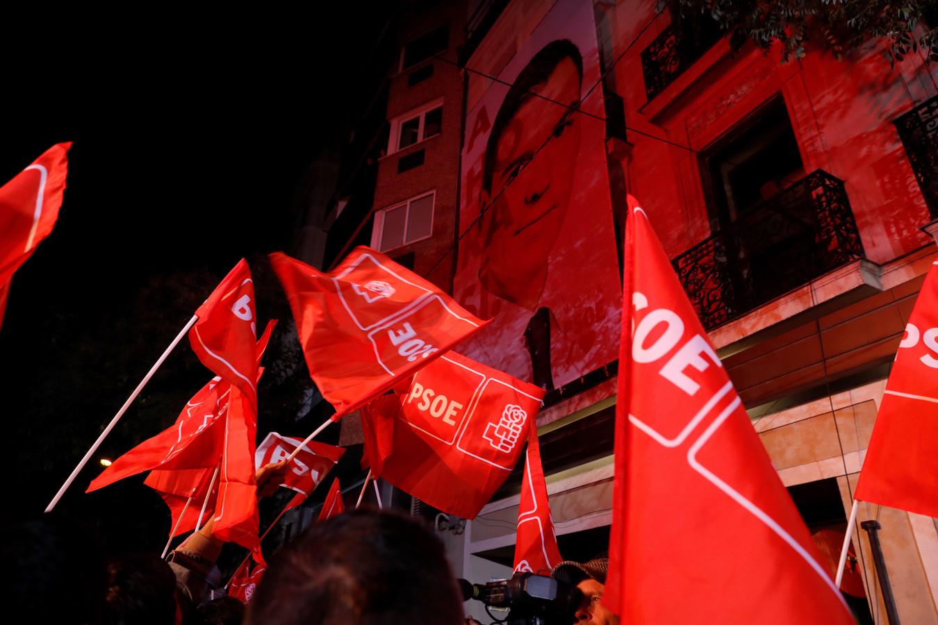 Aanhangers van de PSOE