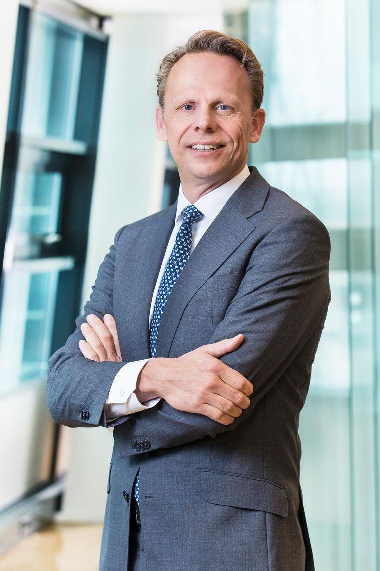 Ton Kliphuis, voorzitter raad van bestuur VGZ: 'Er zit op de lange termijn 20 tot 25 procent 'lucht' in de zorg. Zo veel geld geven we onnodig uit.' Beeld Babet Hogervorst