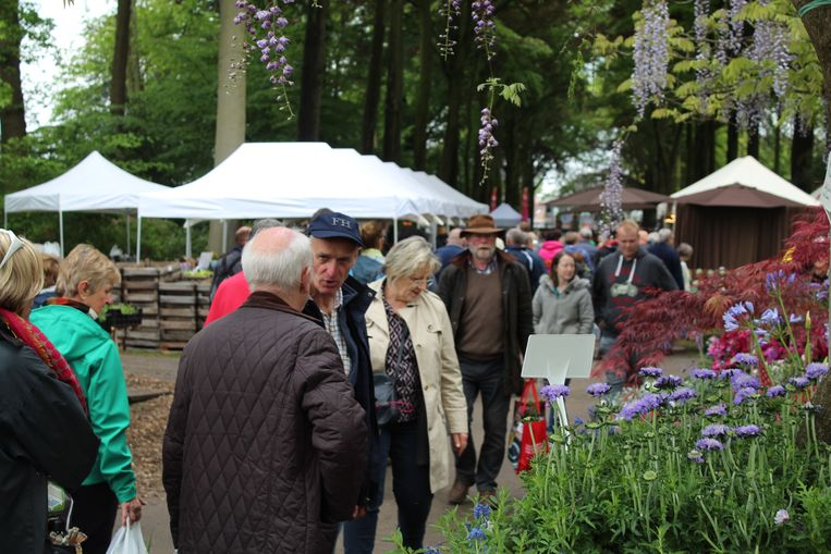 De openingsdag van de Tuindagen in Beervelde lokte meteen 6.000 bezoekers.