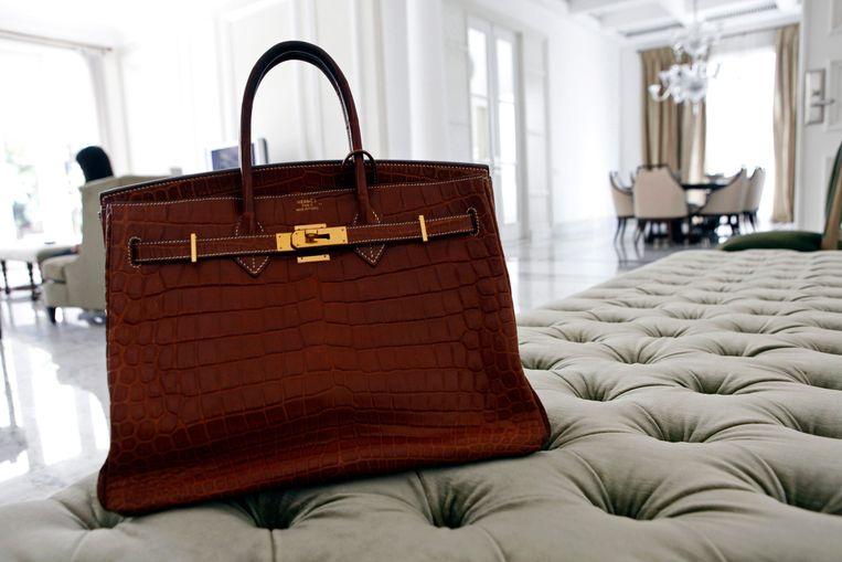 Een klassieke Hermès-tas. Beeld Reuters