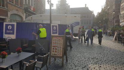 Grote Markt in Antwerpen afgesloten: politie onderzoekt schietincident