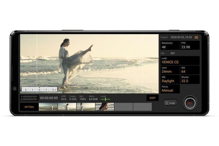 Sony Xperia 1 II Beeld Sony