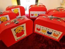 Geen boekkoffertjes meer voor jonge kinderen