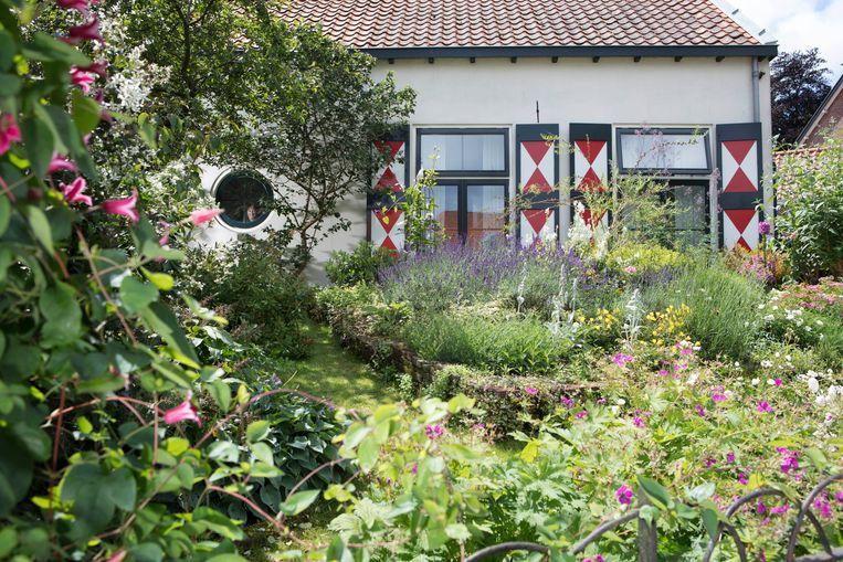 De tuin van mevrouw Schoute. Beeld Jaap Scheeren