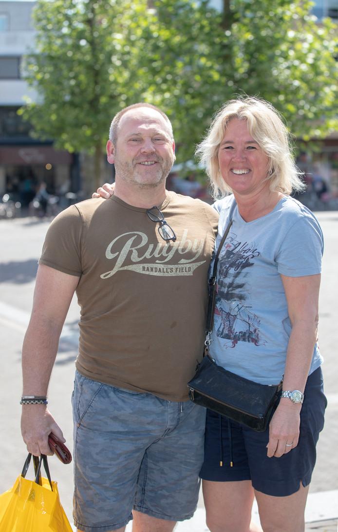 Erik Achterberg en Monique Snater