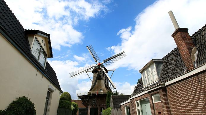 Geen busladingen Aziaten naar de molens in Veenendaal.