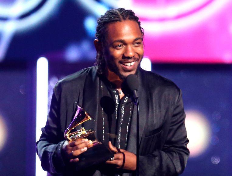 Rapper Kendrick Lamar won met 'Damn' eerder ook al de Grammy-award voor het beste rap album.