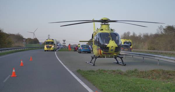 Motorrijder uit Apeldoorn komt om bij ongeluk in Flevoland.