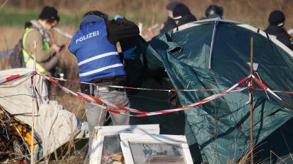 Duitse politie valt kamp van milieuactivisten in bos binnen na incidenten rond Kerstmis