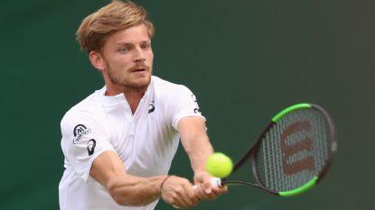 Goffin start goed in Wimbledon en klaart de klus in drie sets tegen Klahn
