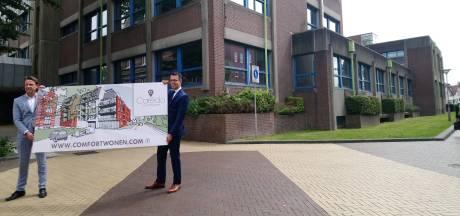 85 comfortwoningen aan Van der Spiegelstraat Goes; voormalig GAK-kantoor gaat tegen de vlakte
