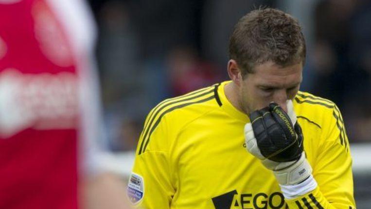 Keeper Maarten Stekelenburg. Foto ANP Beeld