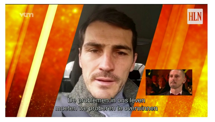 Gouden Schoen Miguel Van Damme Iker Casillas Thibaut Courtois
