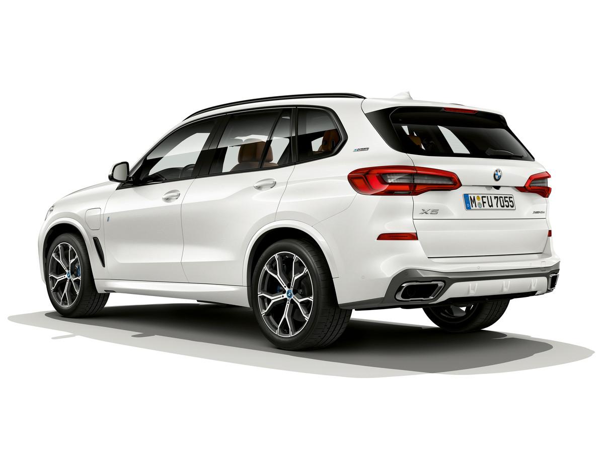 De tweede generatie van de BMW X5 plug-in hybride