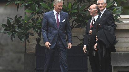 Koning Filip stuurt Geert Bourgeois (N-VA) en Rudy Demotte (PS) het federale veld in