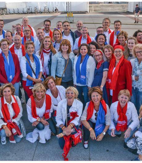 Speciaal project in Eindhoven van Lampegats Gemengd Mannenkoor