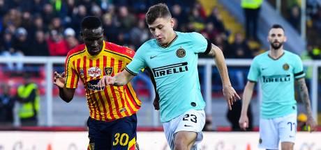 Inter morst op bezoek bij laagvlieger Lecce punten in titelstrijd