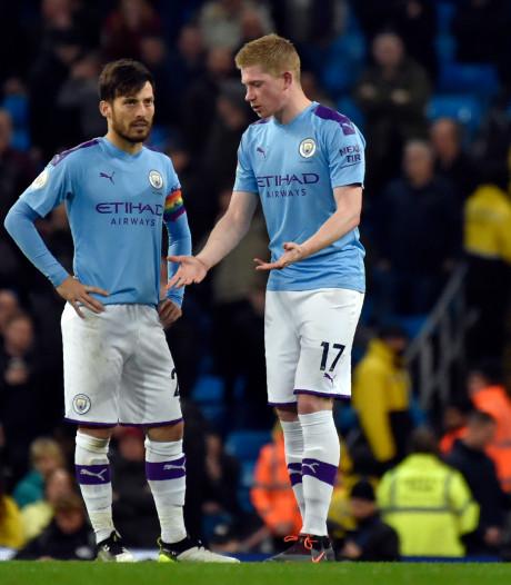 Les espoirs de titre s'envolent pour City et De Bruyne