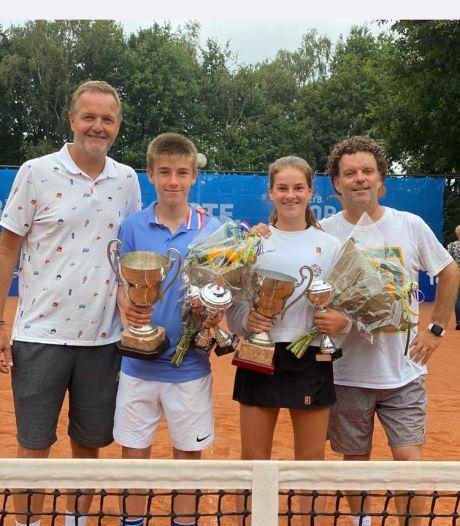 Rose Nijkamp uit Apeldoorn is opnieuw de beste tennisster van het land