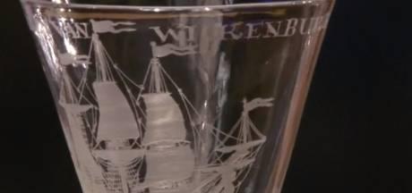 Uniek Middelburgs VOC-glaasje blijkt veel geld waard