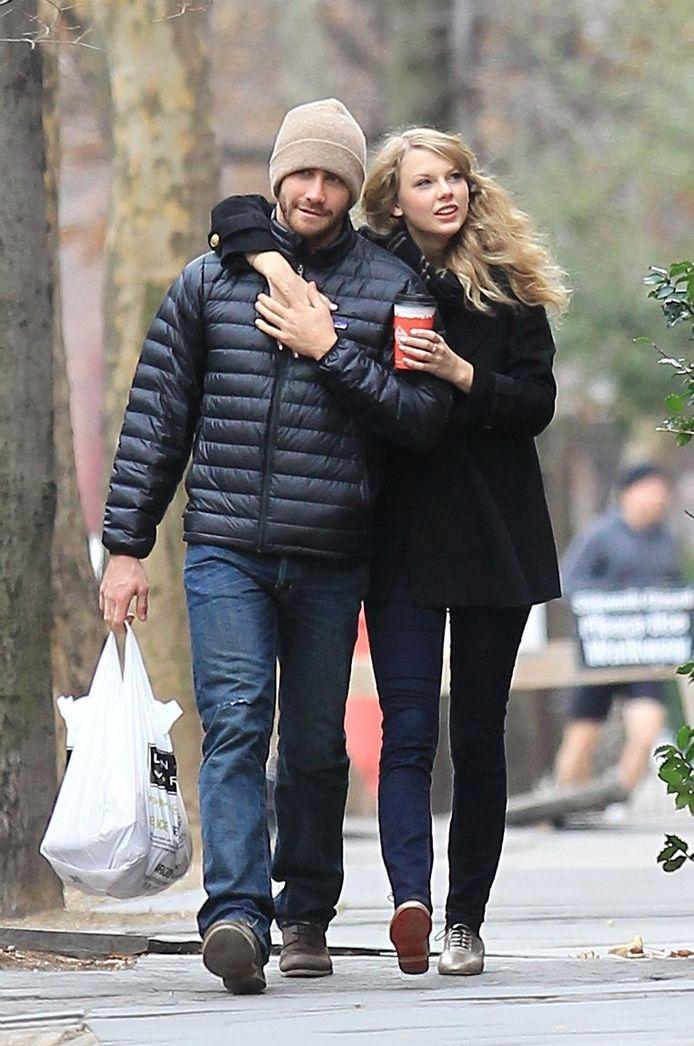 Jake Gyllenhaal et Taylor Swift en 2010.