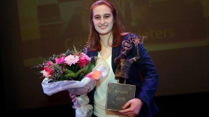 Céline Coppieters krijgt Sporttrofee van het jaar