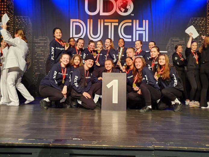 Team X-Flair van dansschool Flexx_n Dance uit Eindhoven heeft zich gekwalificeerd voor WK in Blackpool.