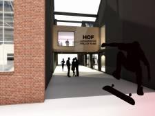 Monumentale Hall of Fame in tweeën geknipt, straks een grotere skatebaan