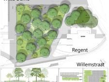 Clausplein in Eindhoven wordt groene oase