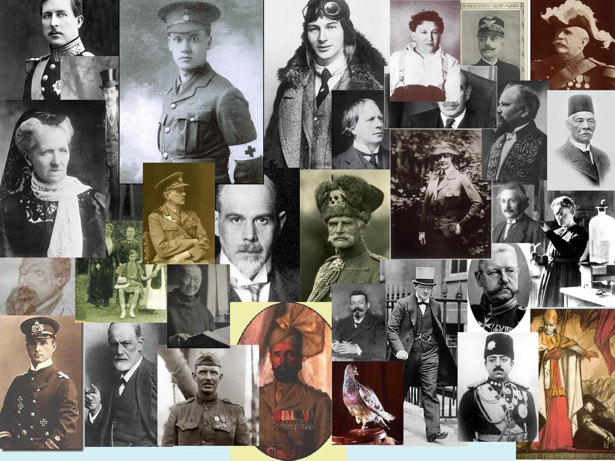 Personages uit Veertien Achttien