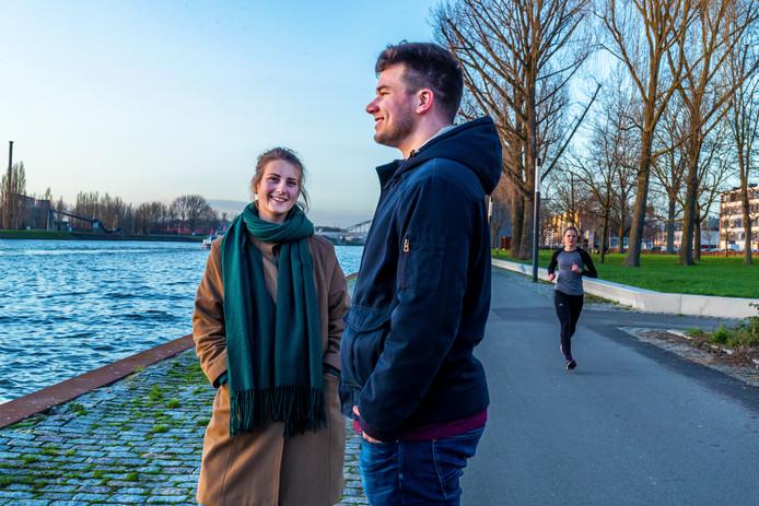 De nieuwe Kanaleneilanders: Allard Roorda (28), Dianne Smit (28) en Nienke Hendriksen (25).